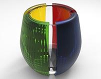 SCADmoa Inspired Glassware