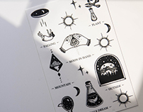 Dream at night - Tattoo sticker
