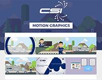 CSI | Motion Graphics