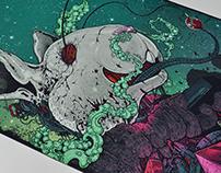Haywire Festival 2017 (TM/RO) - merch poster