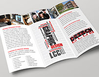 LCC Graphic Design Department Brochure