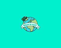 'Where to Next' logo & digital identity