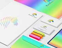Rainbow Horse Branding