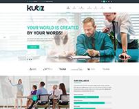 Kubiz-Business PSD Template