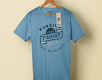 Hanging T-shirt Mockup (Freebie)
