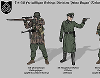 Historical Uniforms 'Prinz Eugen' Division art