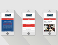 DVB Law Responsive Website