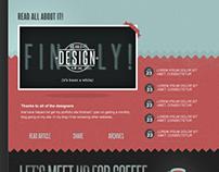 Blog page idea