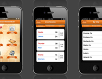 Basketball Score App