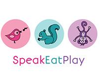 Speak Eat Play - Logo Design