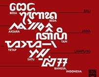 Indonesian Multiscript Samples