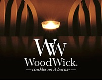 Woodwick Candle Ad Series - Design for Advertising
