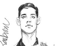 UK Men's Fashion Week Sketches - S/S 2014