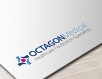 Corporate Identity Design for OCTAGONMedical Healthcare