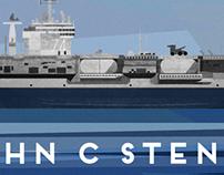 USS JOHN C STENNIS 74