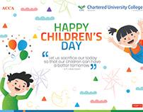 Happy Children's Day | 17th March