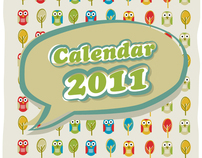 The Babybirds' Owl Calendar 2011