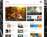 News, Premium WordPress Rating Portal Theme