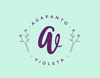 Agapanto y Violeta