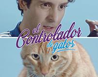 Controlador de Gatos - Cat Chow
