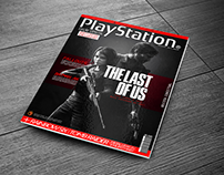 PLAYSTATION CONCEPTUAL COVER MAGAZINE - THE LAST OF US
