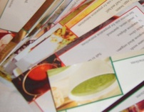 Recipe card collection for individuals with Dysphagia
