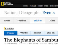 National Geographic Events