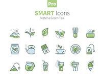 Smart Icons Matcha Green Tea