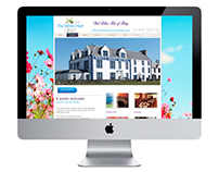 White Hart Hotel Islay Website Design