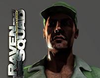 """Juarez Militia"" 3D Game Character"