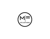 MF Caseworks logo design.