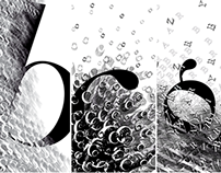 Typographic interpretation of water phenomenon