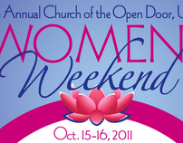 Church of the Open Door, UCC: Annual Women's Weekend