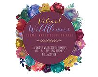 VIBRANT WILDFLOWERS - FREEBIE