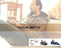 Range of Floor seats for back pain