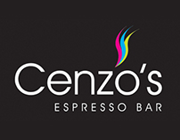 Cenzo's Espreso Bar Website Concepts