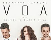 """Single """"Voa"""" - Bernardo Falcone, Ruxell & Carla Díaz"""