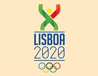 Lisboa 2020 Olympics - Logo
