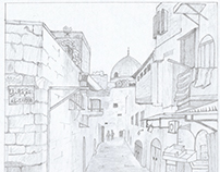 Old City Sketch