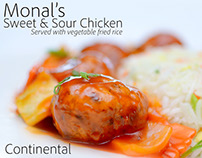 The Monal Group Food Photography, Digital Marketing