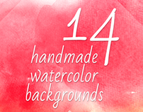 14 Watercolor Artistic Backgrounds