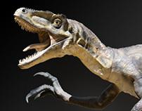 """Exposition """"Au temps des dinosaures""""."""