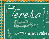 Lettering - Cartaz Grupo Teresa