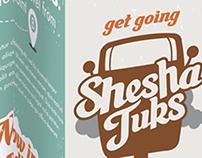 Shesha Tuks Branding