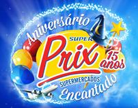 Campanha SuperPrix 15 anos
