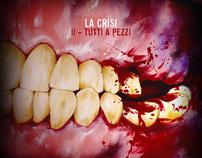 La Crisi - II Tutti A Pezzi - LP Graphic Layout