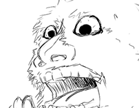 """Schnoz"" - Comic Character Designs"