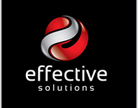 Effective Solutions Template Logo $29