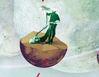 Eco-feminism – illustrations for Goethe Institut Warsaw
