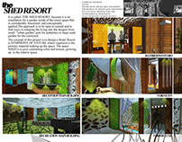 the SHED RESORT Design